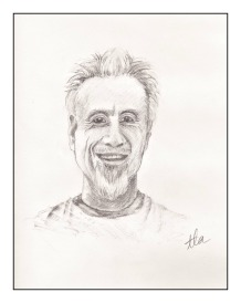 Professor Abramson drawing